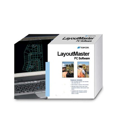 Topcon Layout Master Office Software TOP99-090001-02A