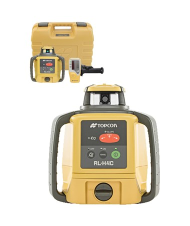 Topcon RL-H4C Self-Leveling Rotary Laser 57177