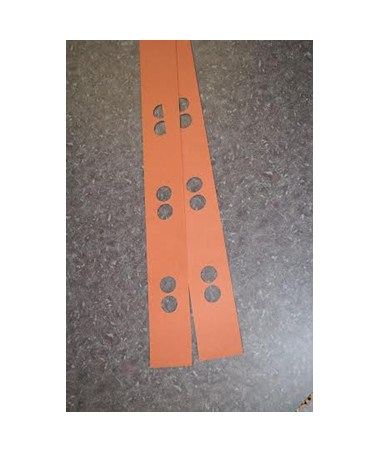 Ulrich Divider Strips for Parallel Pinfiles D24