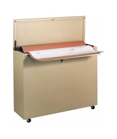 Ulrich Fire Resistance High-Density Vertical Minifile For 36 x 48-Inch Sheets ULR6036