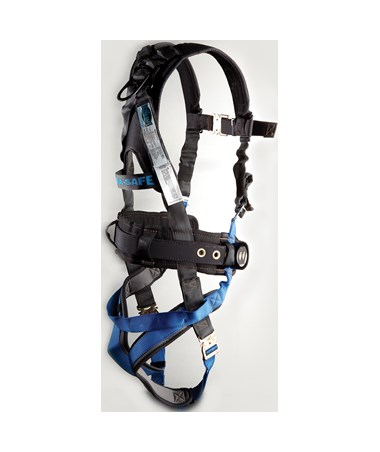 Ultra-Safe Ultra Pillow-Flex With X-Pad Back Pad Ironworker's Type With 3 D-rings And Tool Belt UPFX-96305WSQL