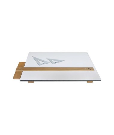 Alvin Drawing Board Kit With T Square And 2 Triangles Xbk