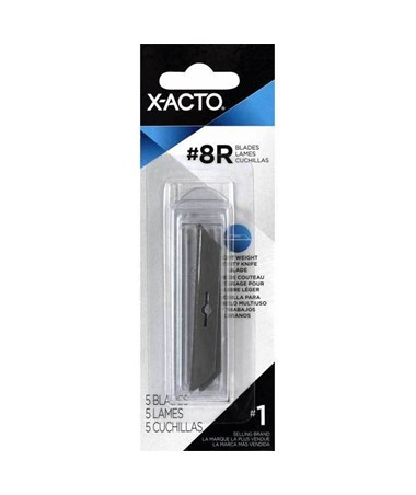 NO.8 BLADE PKG OF 5 CARDED XR-208