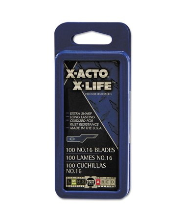 NO.16 BLADE PKG OF 5 CARDED XR-216