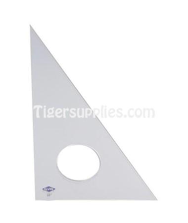 ALVIN® Professional Acrylic Triangles (45°/90° Fluorescent) alv131f