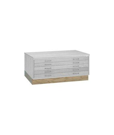 Mayline Short Closed Base for 30 x 42 Wood Plan File 7718W